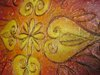 Rangoli V - Original Abstract Textured Painting on Canvas