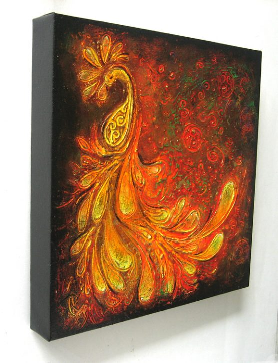 Dance - Origninal Texture Acrylic Painting on Canvas