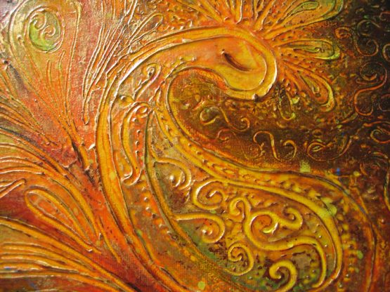 Dream - Origninal Texture Acrylic Painting on Canvas
