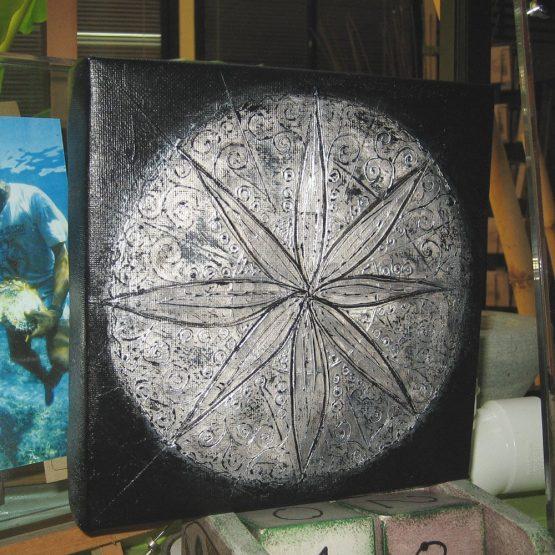 Metallic I - Original Abstract Textured Painting on Canvas