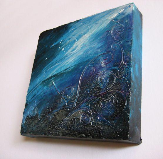 Bombora - Original Abstract Textured Painting on Canvas